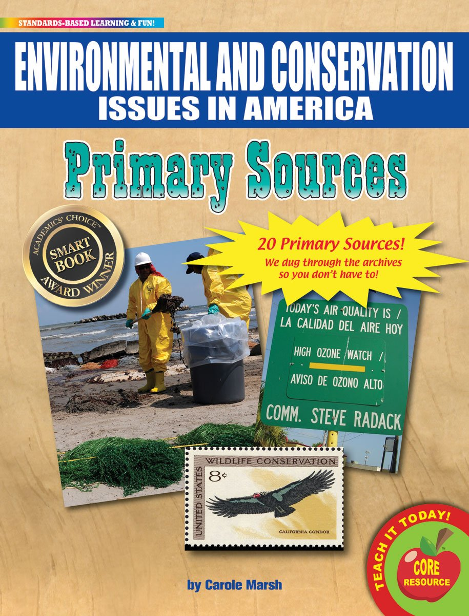 Gallopade Publishing Group Historical Documents Environmental and Conservation Issues Primary Sources Pack (9780635126016) by GALLOPADE (Image #1)