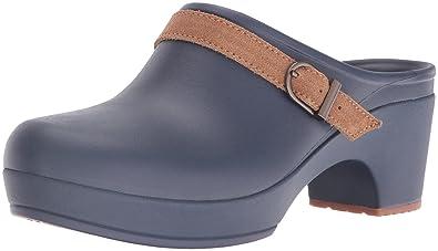 Sarah Clog, Damen Clogs, Blau (Navy 410), 37/38 EU (5 Damen UK) Crocs