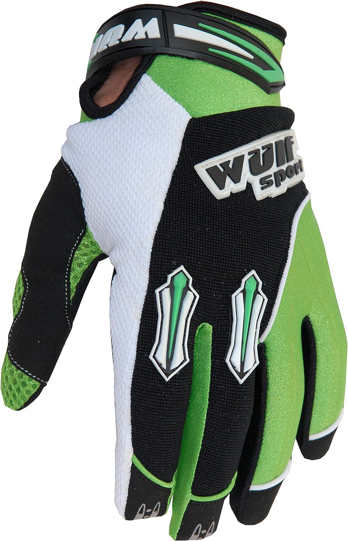 Wulfsport Kids Stratos MX Gloves Junior Motocross Motorcycle Quad Biking Glove