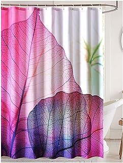 LanMeng Elegance Luxury Bathroom Shower Curtain Waterproof And Mildewproof Polyester Fabric