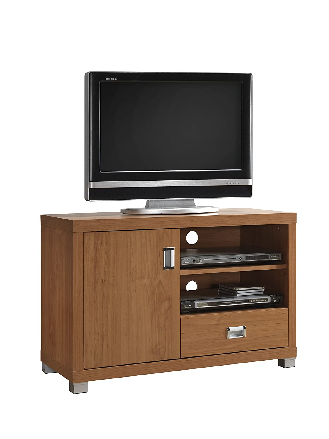 Amazon.com: TV Stand with Storage. Color: Maple: Kitchen & Dining