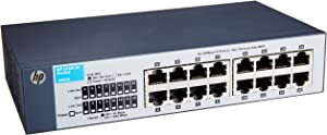 HP 16-Port Switch, Unmanaged (J9662AS#ABA)