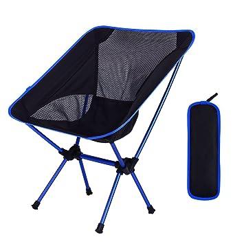 Alexen sillas Plegables al Aire Libre para Acampar Silla ...