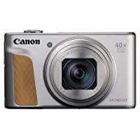 Canon SX740 HS PowerShot Digital Camera - Silver