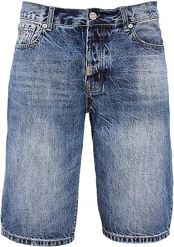TALLA 38. U.N.C.S. - Pantalón corto - recto - para hombre