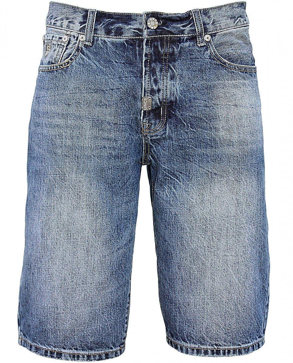 TALLA 46. U.N.C.S. - Pantalón corto - recto - para hombre