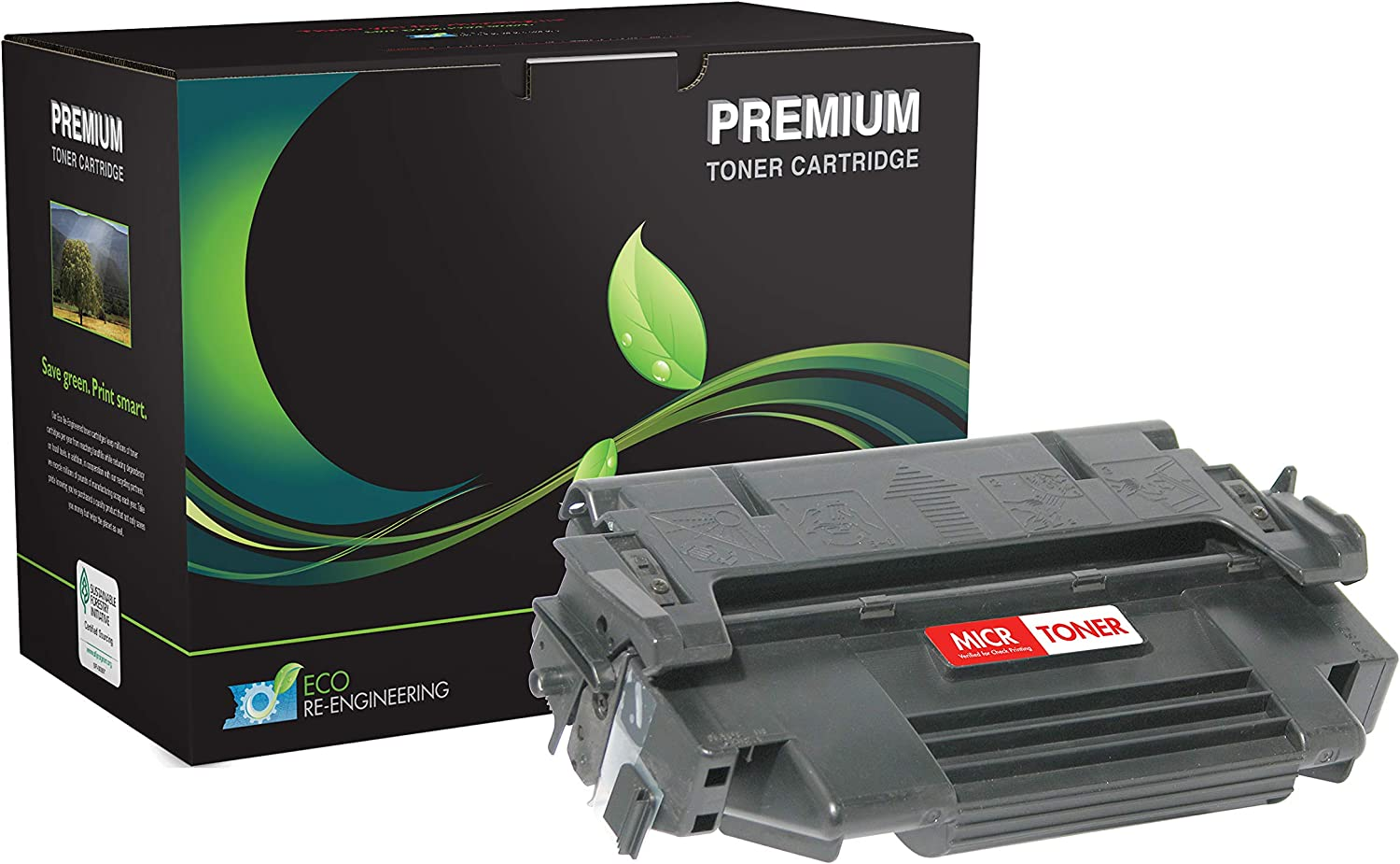 Inksters Remanufactured Toner Cartridge Replacement for HP 98A Univ Toner MICR 92298A MICR / M2473G/A MICR / TN9000 MICR for Laserjet 4 4M 4+ 4M+ 5 5M 5N 5Se (EX) 02-17310-001 (Black)