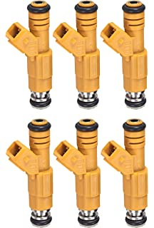 UPGRADE! 87-98 JEEP 4.0L BOSCH TYPE III FUEL INJECTORS SET 6 4 HOLLE