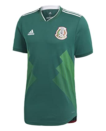496ff05df Amazon.com  adidas Men s Soccer Mexico Home Authentic Jersey  Clothing