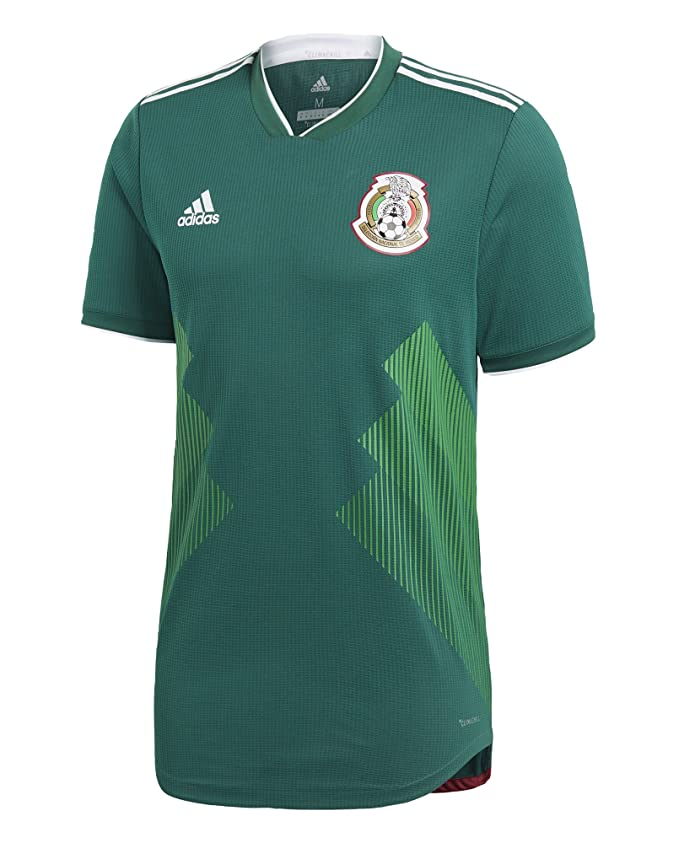 c7f73b8078d Amazon.com  adidas Men s Soccer Mexico Home Authentic Jersey  Clothing