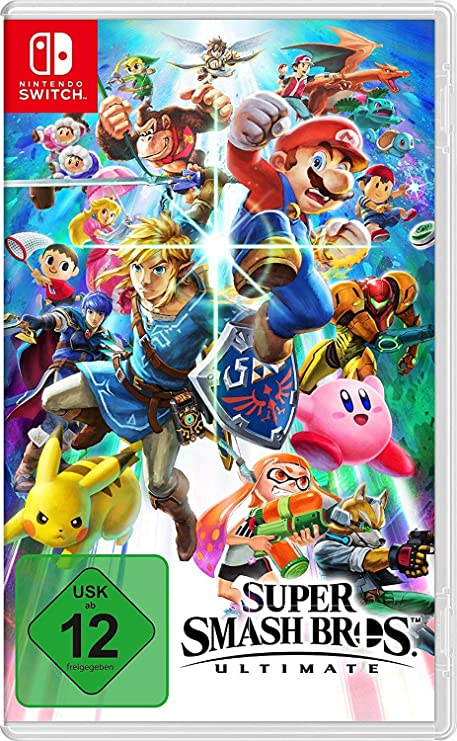 Super Smash Bros. Ultimate - Nintendo Switch [Importación alemana ...