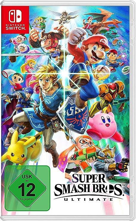 Super Smash Bros. Ultimate - Nintendo Switch [Importación alemana]: Amazon.es: Videojuegos