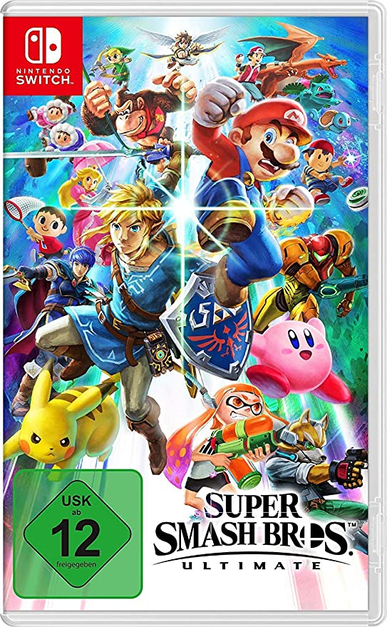Super Smash Bros. Ultimate - Nintendo Switch [Importación alemana]: Amazon.es: Videojuegos
