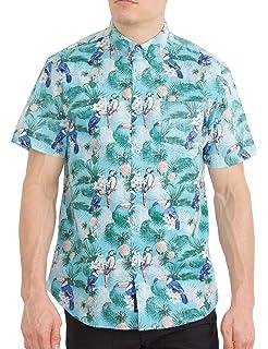 64c08558 Visive Original Mens Hawaiian Short Sleeve Button Up Shirt Size S - 4XL