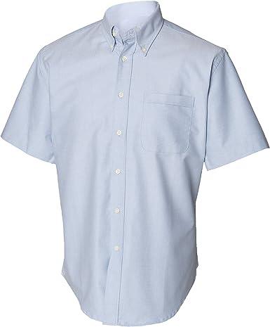 Henbury - Camisa Clásico manga corta Modelo Oxford Work hombre caballero - Trabajo/Fiesta/Boda: Amazon.es: Ropa y accesorios