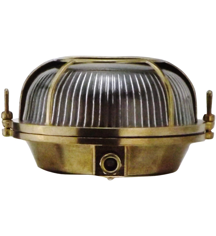 LED /paratia l/ámpara de pared al interior o exterior de luz impermeable Marino Nautical l/ámpara industrial Orbis