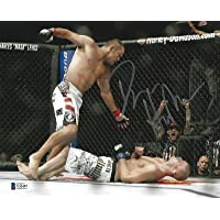 $74 » Dan Henderson Signed 8x10 Photo BAS Beckett COA UFC 100 Bisping H-Bomb Picture - Autographed UFC Photos
