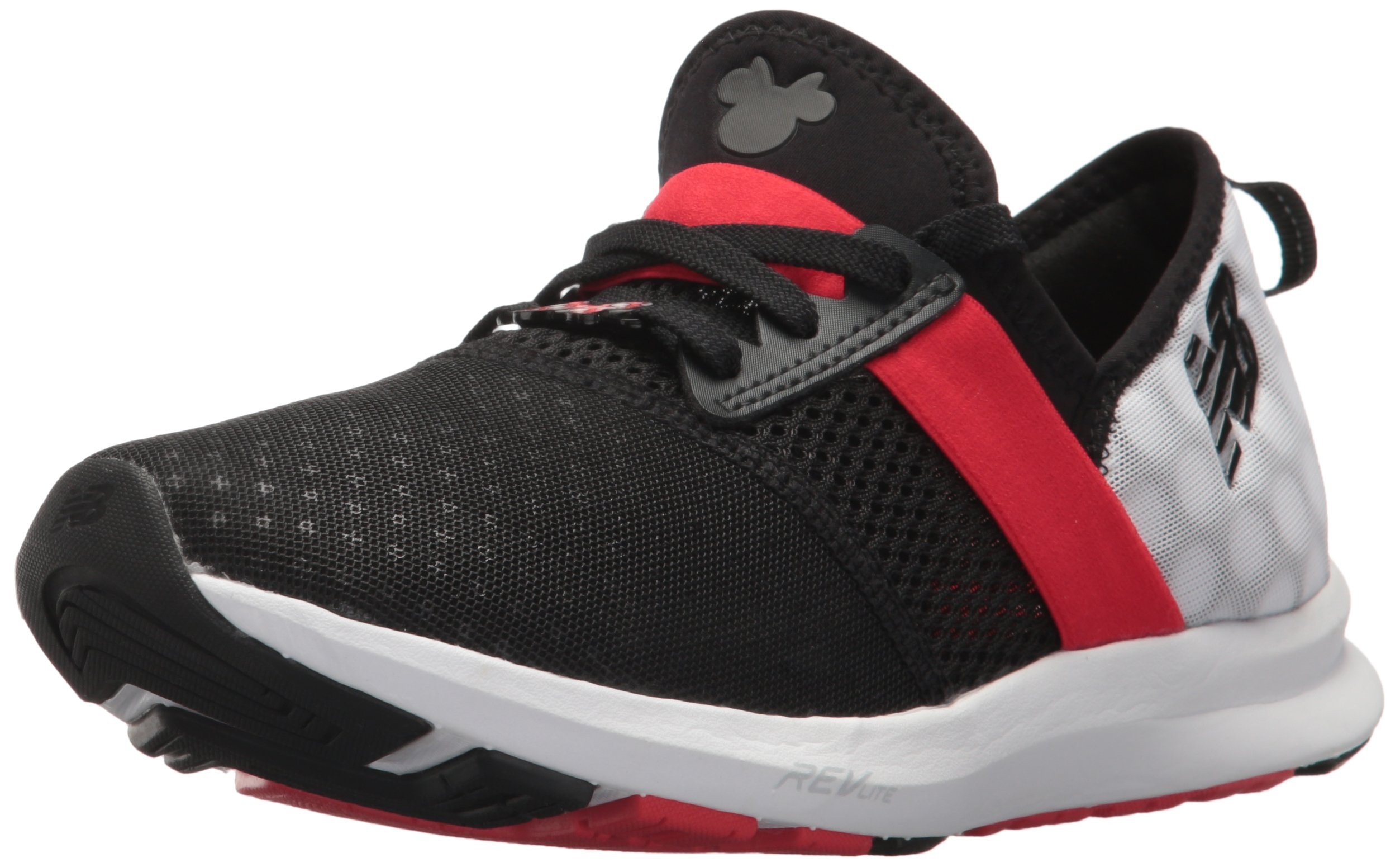 New Balance Women's Nergize V1 Fuelcore Disney Cross Trainer, Black/Red, 85 B US by New Balance (Image #1)