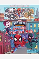 Marvel's Super Hero Adventures Spider-Man: A Tangled Web (Magnetic Hardcover) Hardcover