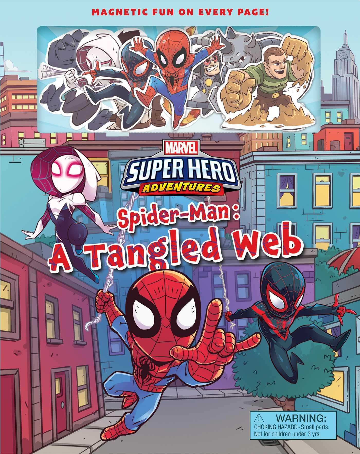 Marvel's Super Hero Adventures Spider-Man: A Tangled Web (Magnetic Hardcover)