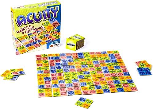 Fat Brain Toy CO - Juego de fichas, para 2 o más Jugadores (EDACU/1) (Importado): Amazon.es: Juguetes y juegos