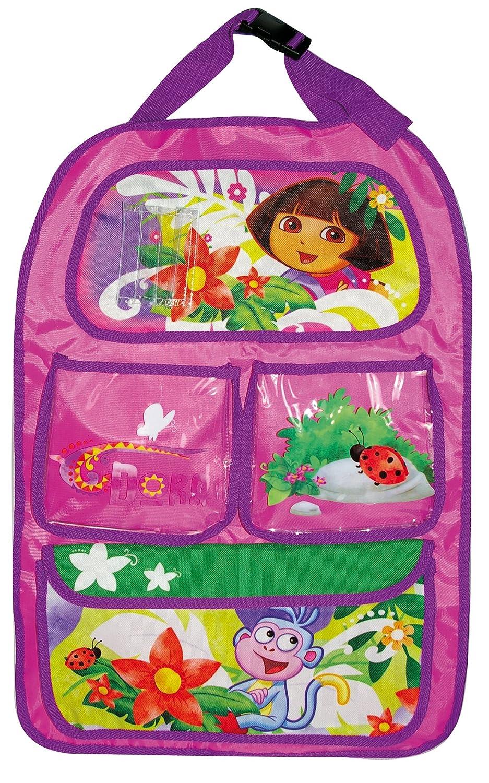 dise/ño de Dora la Exploradora Color Morado Dora DE-KFZ-650 Organizador de Juguetes para Respaldo de Asiento de Coche