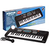 TeeniTiny 37 Key Piano Keyboard Toy for Kids with Mic, Dc Power Option, Recording, USB Port & Charger not Included 2019 Model