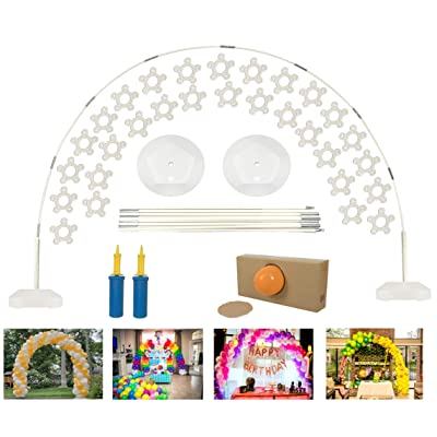 DeElf Quick & Easy Balloon Arch Kit for Birthday, Event Planning, Wedding Event Party Decoration: Toys & Games