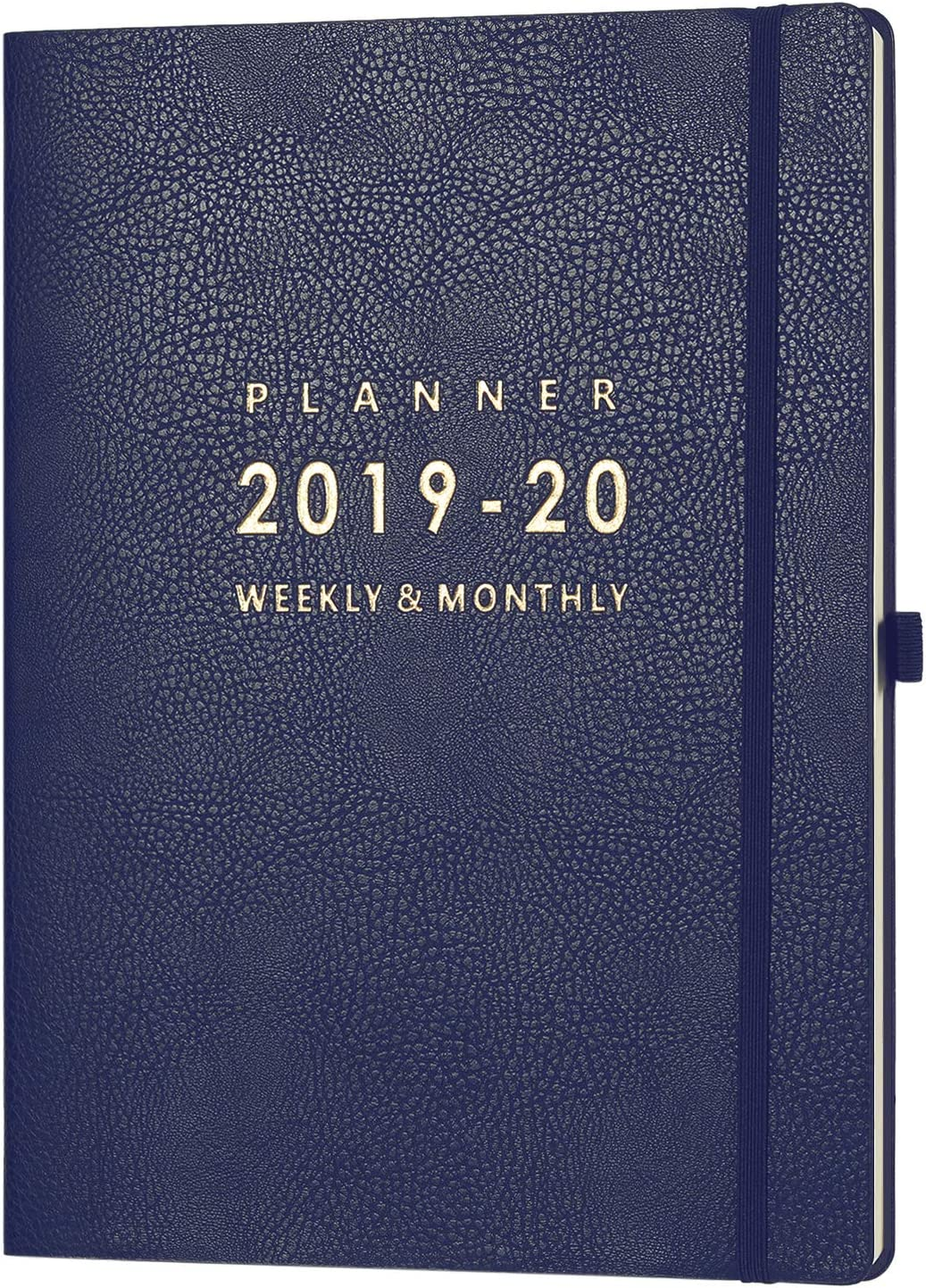 "2019-2020 Planner with Pen Holder - Weekly & Monthly Planner with Calendar Stickers, July 2019 - June 2020, Inner Pocket with 24 Notes Pages, A4 Premium Thicker Paper, 8.5"" x 11"""