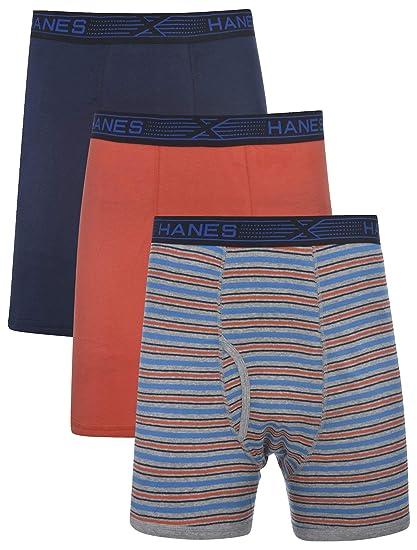 Hanes BoysX-Temp Boxer Briefs Comfort Flex Waistband 3-Pack