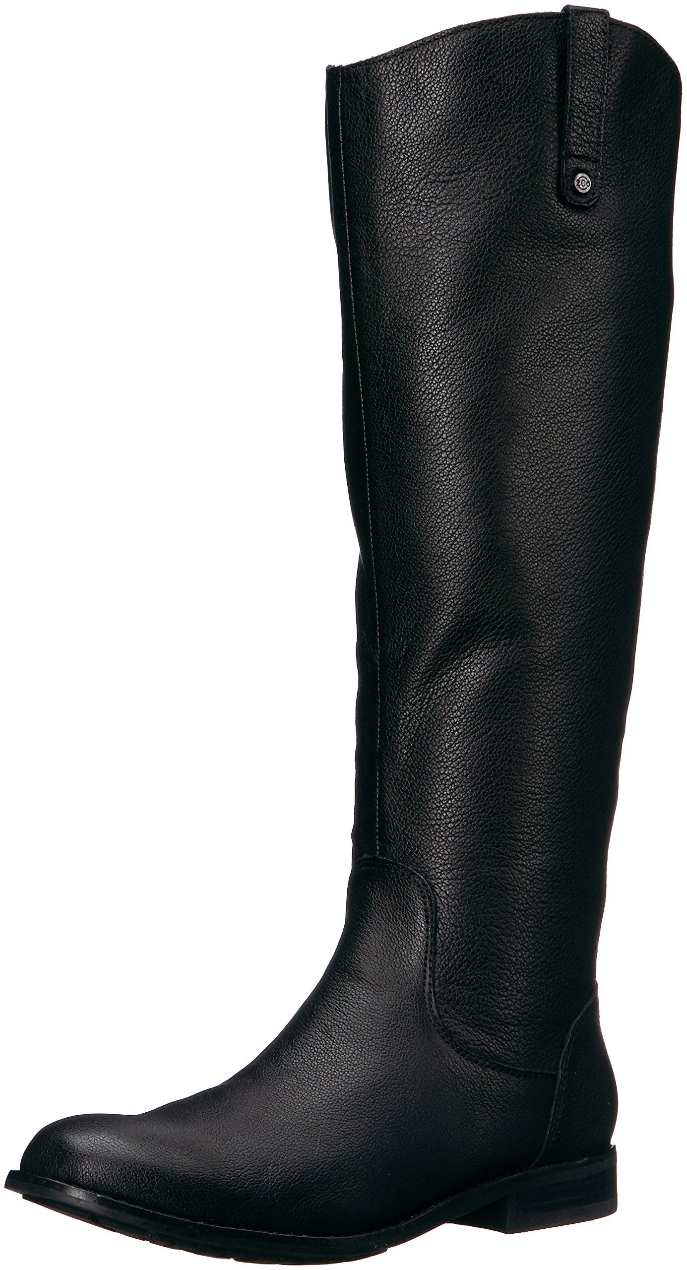 206 Collective Women's Whidbey Riding Boot, Black, 9 B US
