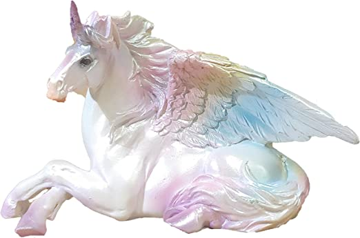 amazon com everspring alicorn winged unicorn statue rainbow design 3 5 inches tall kan 82 home kitchen everspring alicorn winged unicorn statue rainbow design 3 5 inches tall kan 82