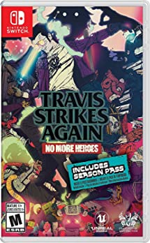 Travis Strikes Again: No More Heroes Cover Art