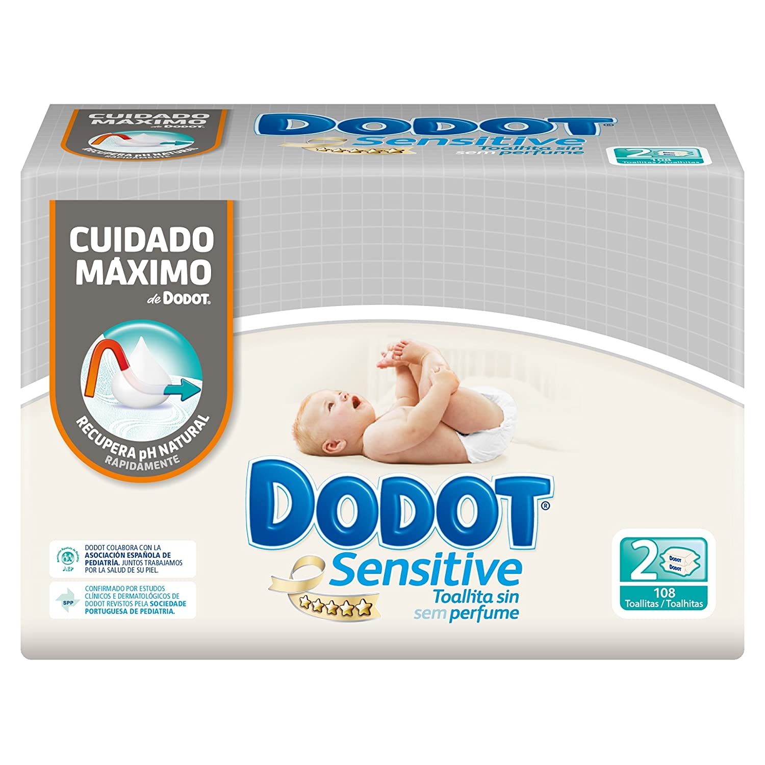 DODOT - TOALL. DODOT SENSITIVE 108 RECAMBIO DUOPACK: Amazon.es: Amazon Pantry