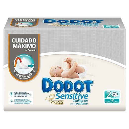 DODOT - TOALL. DODOT SENSITIVE 108 RECAMBIO DUOPACK: Amazon.es: Amazon Pantry