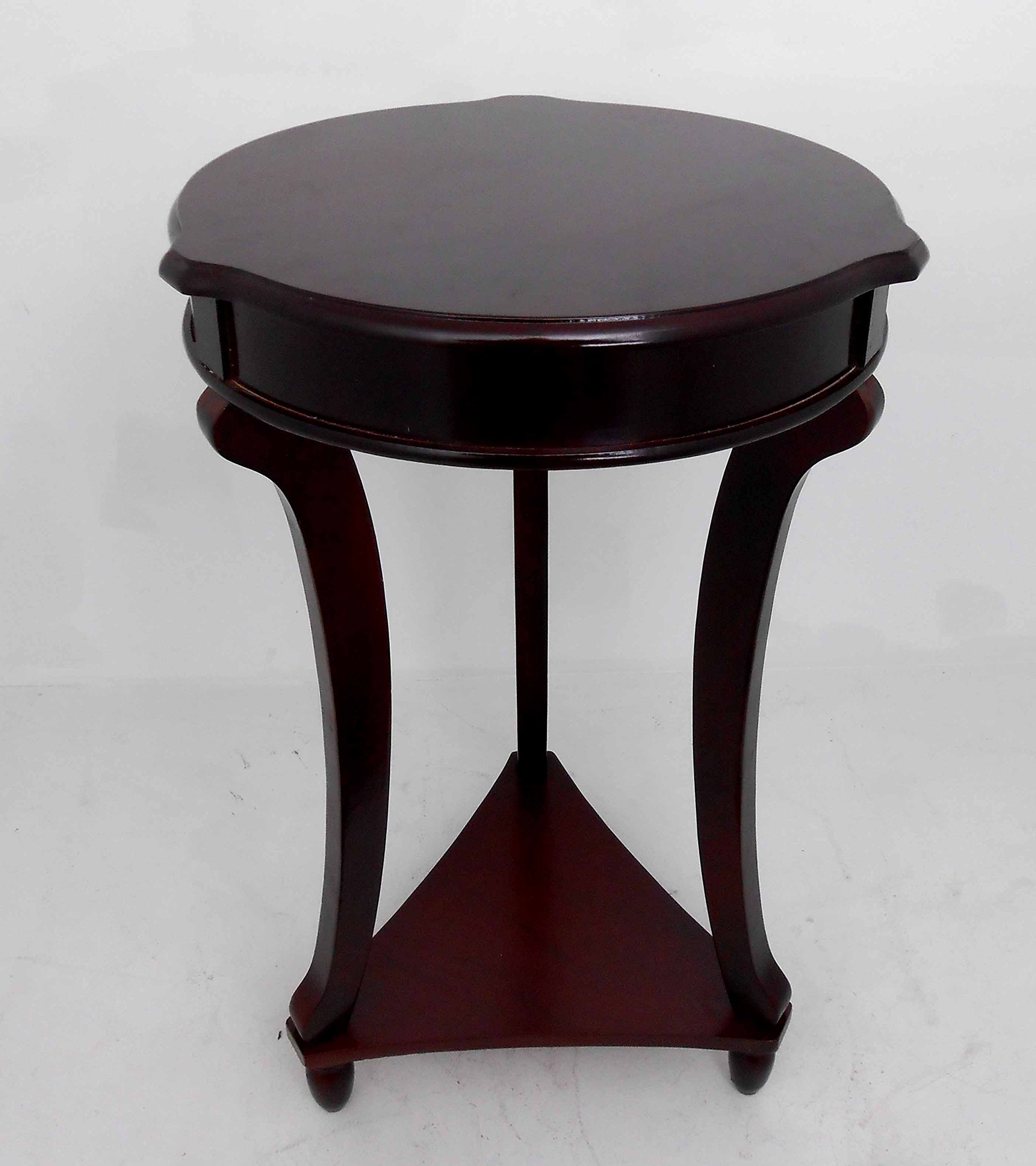 NF Brown Round accent tables / End, telephone, plant table / Home Decorative # 1763