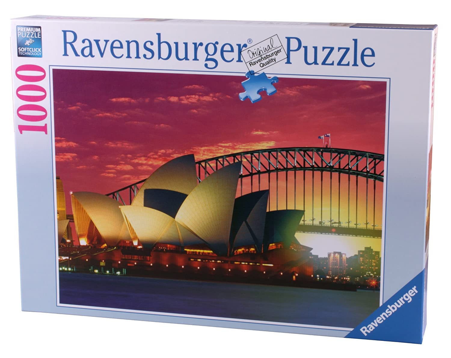 Ravensburger 19211 - Sydney, Oper mit Harbour Bridge - 1000 Teile ...