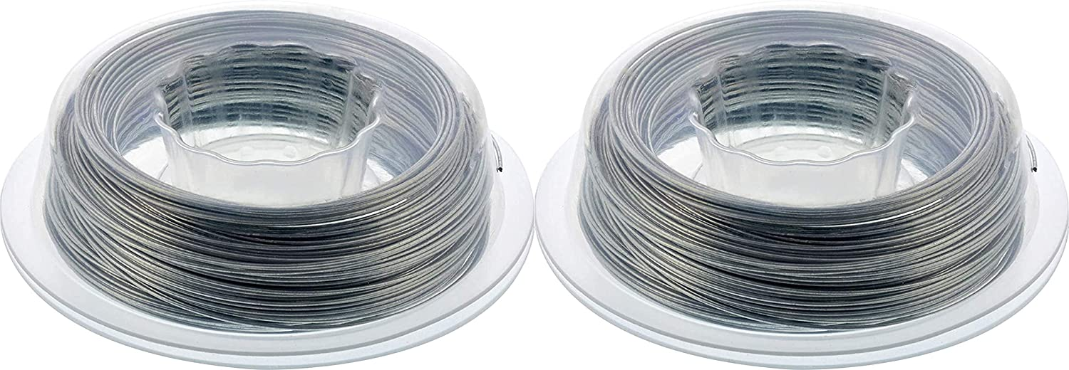 100-New The Hillman Group 123112 Galvanized Steel Hobby Wire 22 Gauge