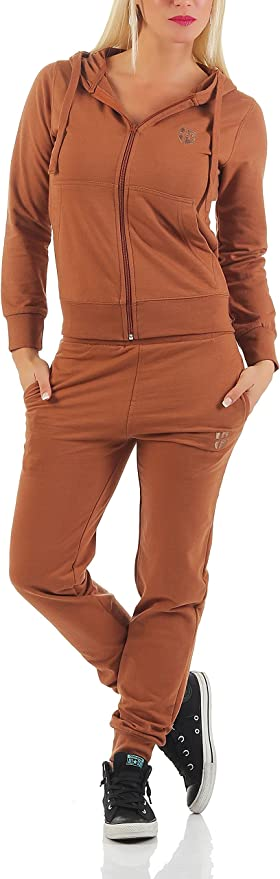 Gennadi Hoppe - Chándal para Mujer Multicolor marrón Claro XXXL ...