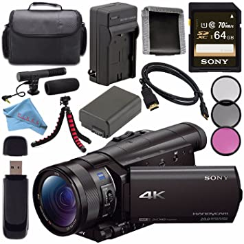 Sony FDR-AX100/B Camcorder Drivers Download
