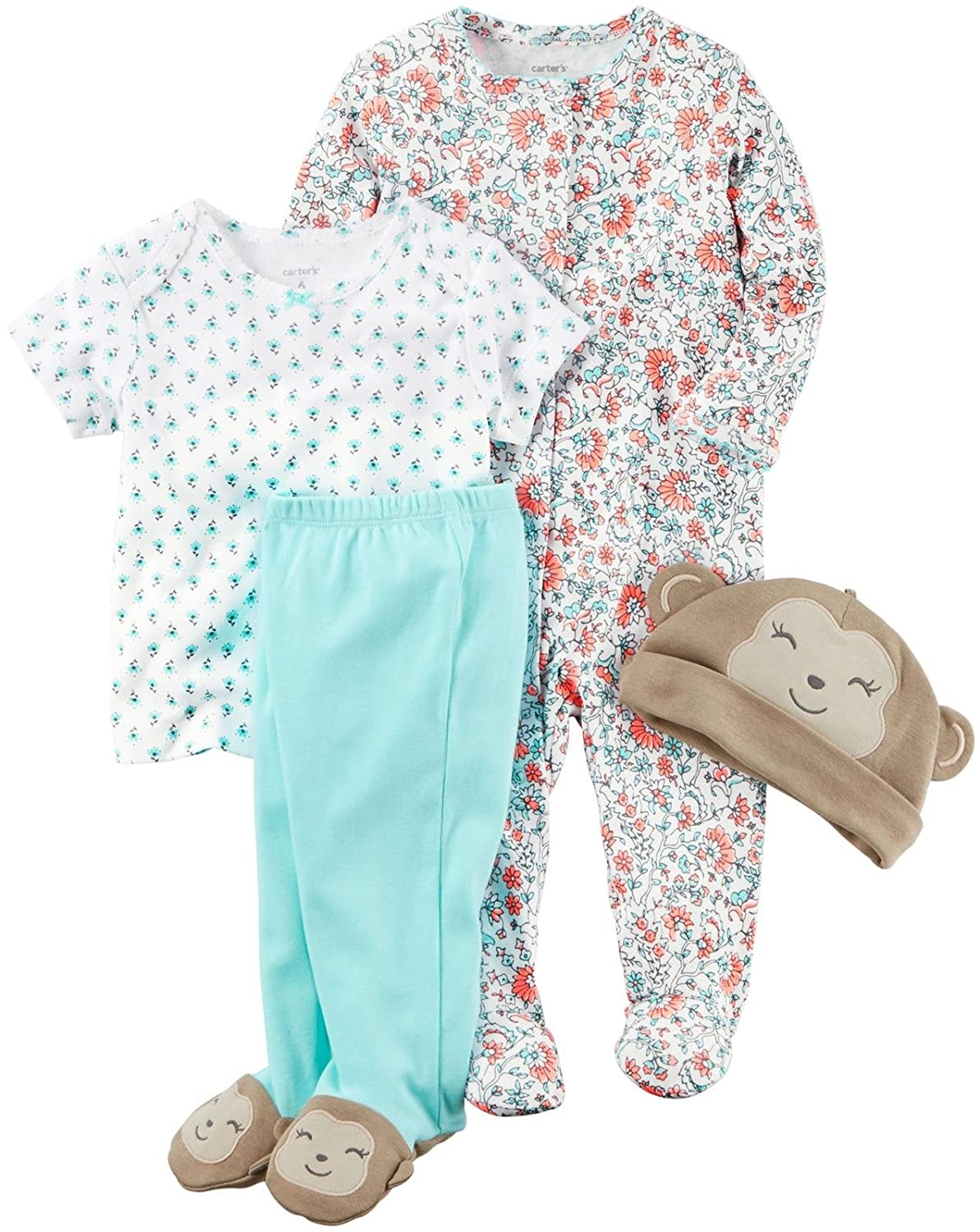 Carters Baby Girls Multi-pc Sets 126g581