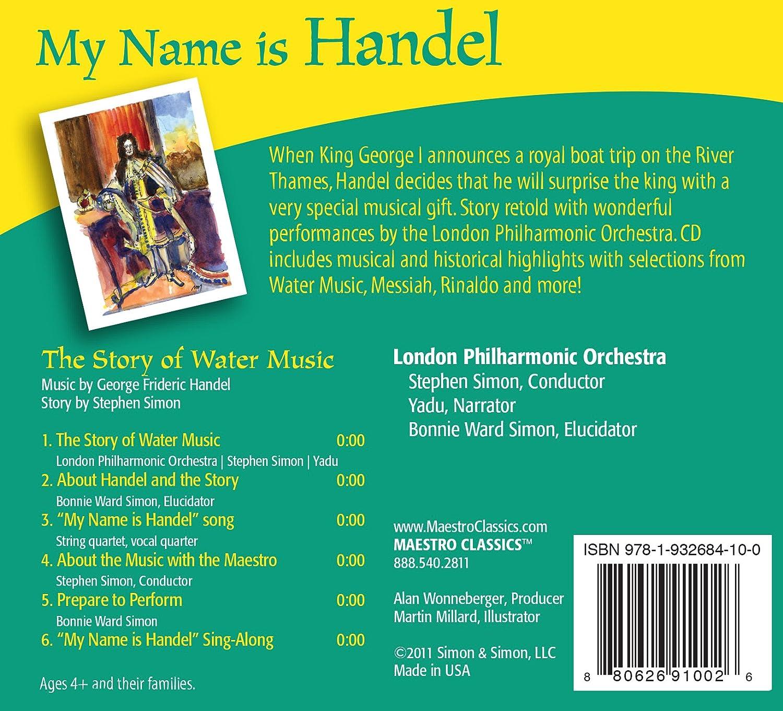 London Philharmonic Orchestra, Stephen Simon, Yadu, George Frideric ...