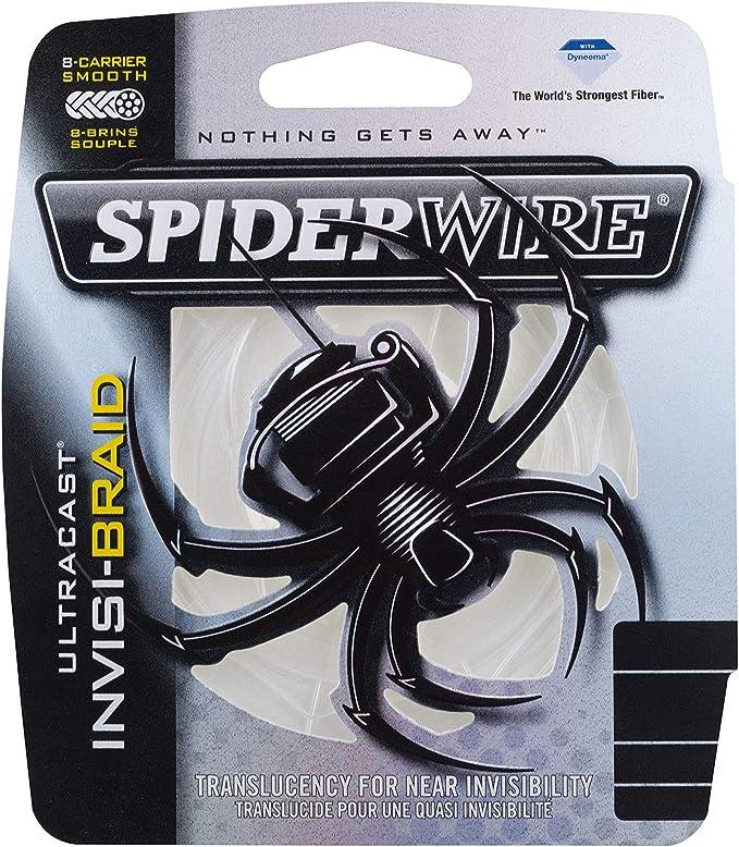 Brand New Berkley SPIDERWIRE STEALTH Lisse 8 Tresse Rouge 0.30 mm 75 lb 34.3 kg 300 M environ 34.02 kg