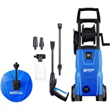 Nilfisk 128470805 C 125.7-6 PC X-tra Hochdruckreiniger, 1500 W, 230 V, Blau