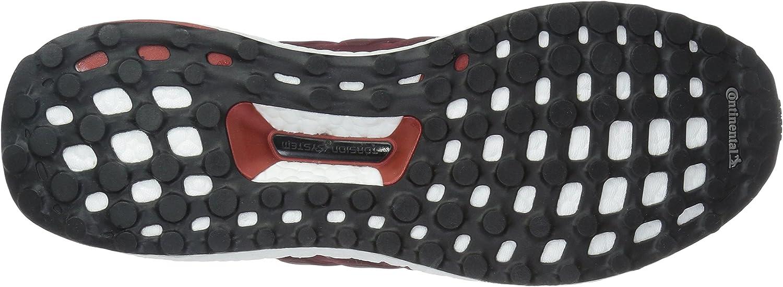 adidas Herren Ultra Boost M Laufschuhe, gelb, 40 EU Collegiate Burgundy Kardinal Mystery Red