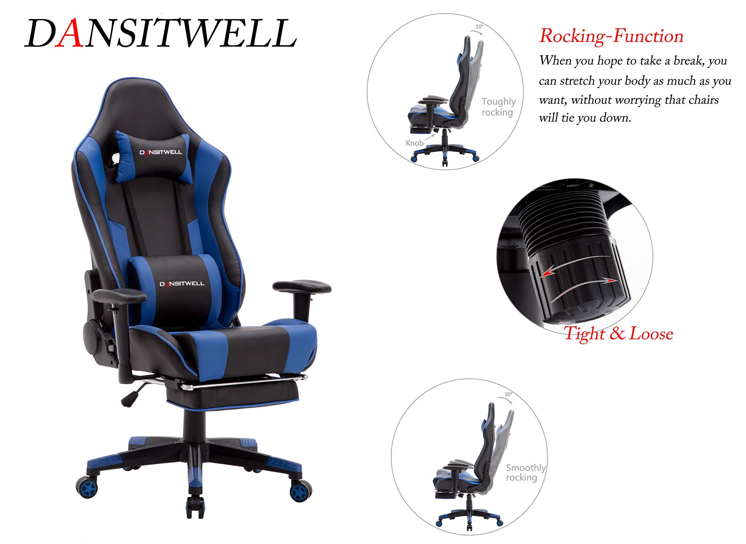 Swell Silla De Juego Dansitwell Con Reposapies Ergonomico Squirreltailoven Fun Painted Chair Ideas Images Squirreltailovenorg