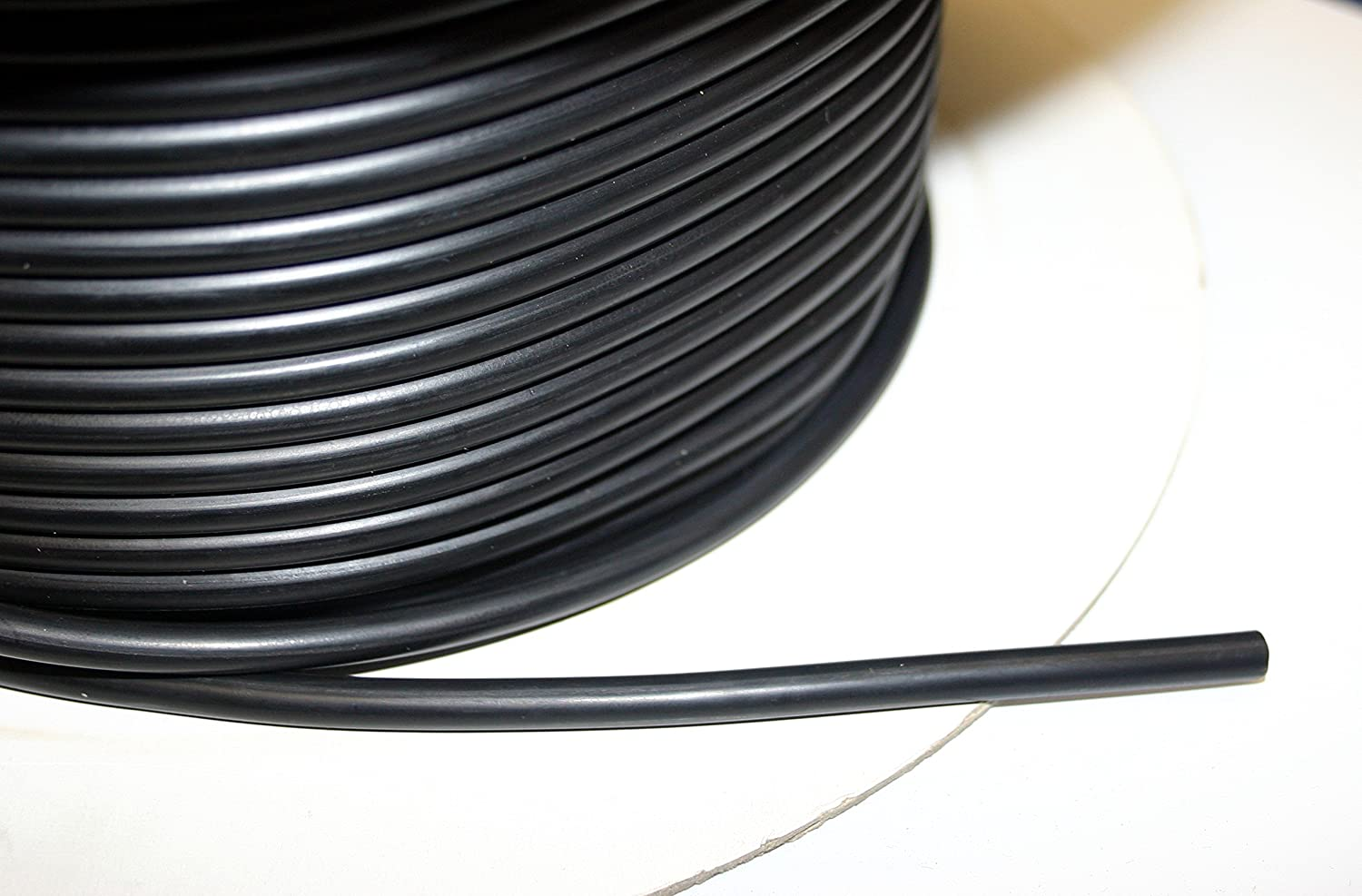 Nitrile rubber O-ring cord - 5mm diameter - sold per metre - oil, water, fuel seals Thorne