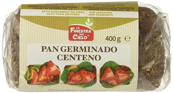 Pan germinado de centeno - La Finestra Sul Cielo - caja de 8 ...
