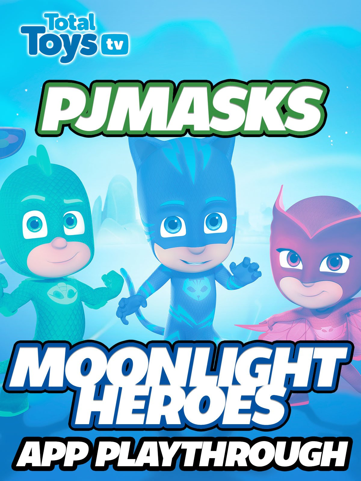 Amazon.com: Clip: PJ Masks Moonlight Heroes App Playthrough: Jason Forthofer