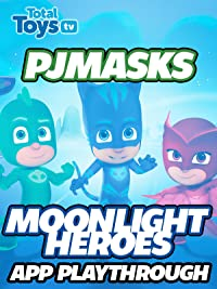 Clip: PJ Masks Moonlight Heroes App Playthrough 2017